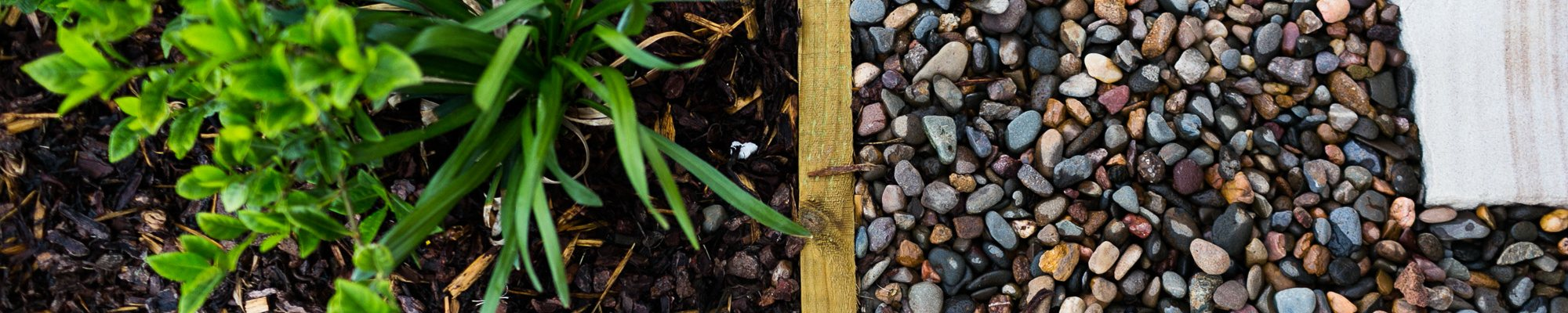 Gardens, gravel, edges, sandstone paving made with love by Novascape Landscaping